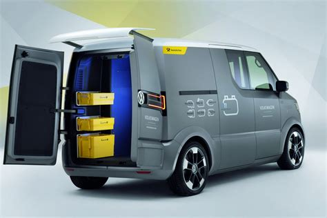 volkswagen concept van volkswagen looks into the transporter s future with new et