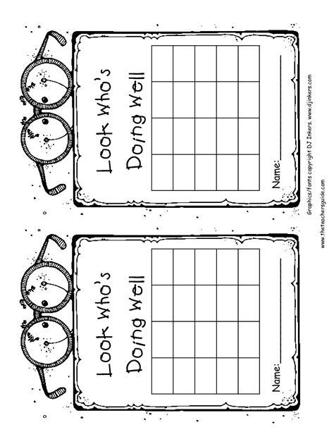 printable behavior incentive charts free printable reward and incentive charts