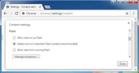 activar flash player para chrome