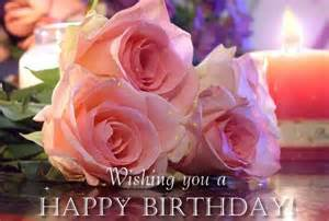 Wishing you a happy birthday cute pink rose graphic imagefully com