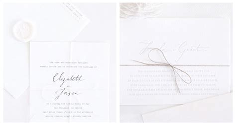 Simple Wedding Stationery by Simple Chic Wedding Stationery