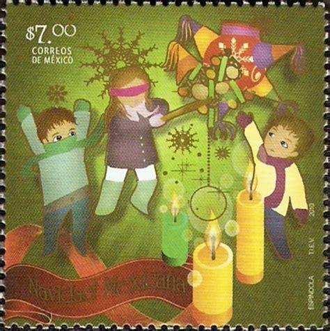imagenes navidad mexicana sello navidad mexicana alegorias posadas 7 00 de m 195