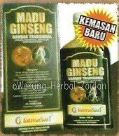 Madu Ginseng untuk suami warung herbal zaidan