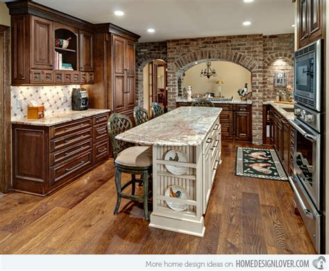 brick kitchen ideas 15 charming brick kitchen designs