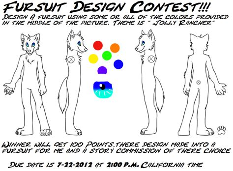 fursuit design contest extended closed by juggalettelife
