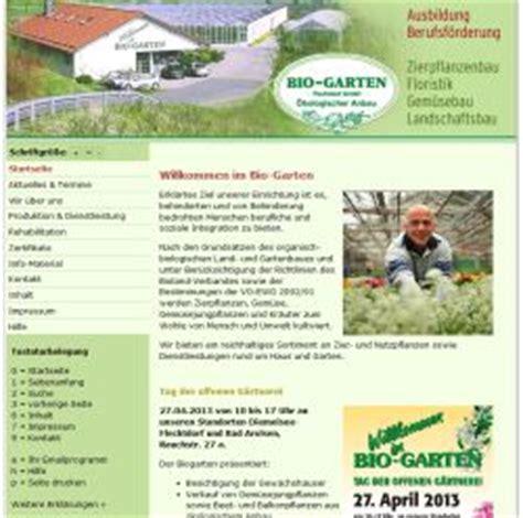 Bio Garten Gmbh by Bio Garten Flechtdorf Gmbh In Korbach