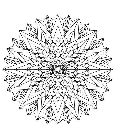 geometric pattern mandala mandala to color patterns geometric 3 mandalas with