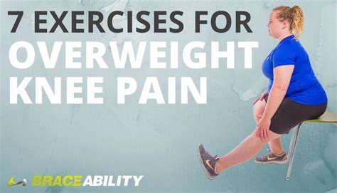 exercises  overweight  obese people  knee pain