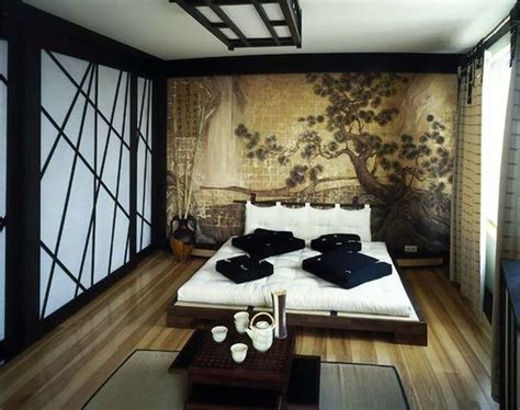 asian inspired bedroom five asian inspired wall covering ideas