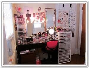 Makeup Vanity Organization Tips makeup organizer ideas makeup vidalondon