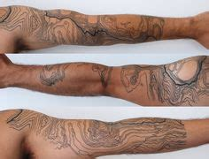 tattoo body contour 1000 images about topo tattoo on pinterest topographic