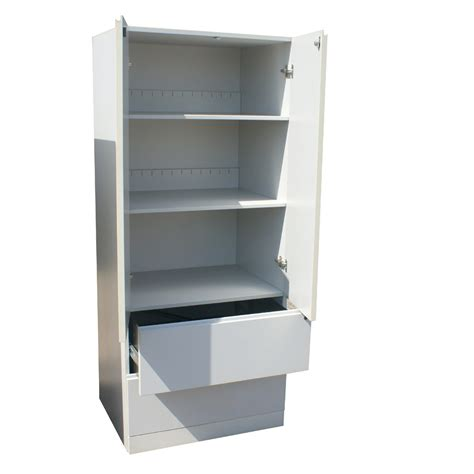 Storage Armoire Furniture by 71 5 Quot White Knoll Armoire Storage Cabinet Ebay