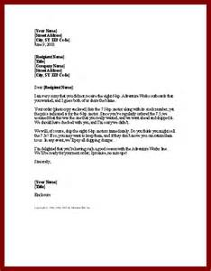 Credit Report Explanation Letter Sle Letter Of Explanation For Not Attending The Seminar How To 46