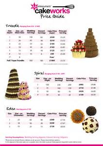beautiful wedding cakes with prices and pictures with wedding cake price list pdf