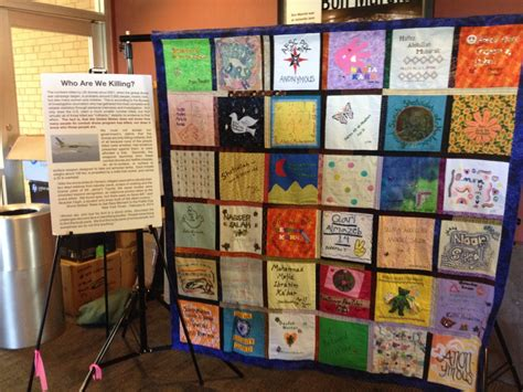 Quilts That Tell A Story by Drones Quilts Tell Stories Of Civilian Victims Waging Peace
