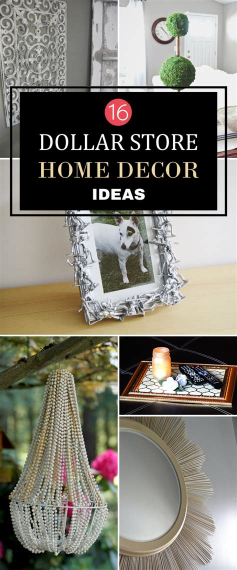 Cheap Home Decor Store by 16 Diy Dollar Store Home Decor Ideas