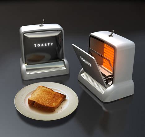 Toaster Retro Design by It S All About The Crisp Toast Yanko Design