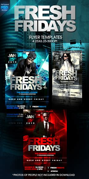 club flyer template free download by imperialflyers on