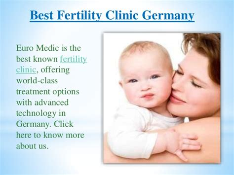 best fertility clinics best fertility clinic germany