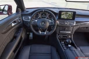 Interior Mercedes 2015 Mercedes Cls 63 S Amg Review Gtspirit