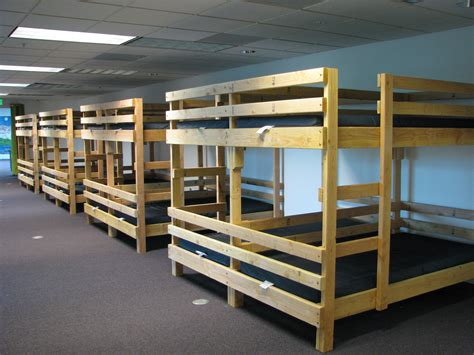 quad bunk beds indoor facilities mount st helens science and learning center