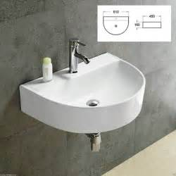 bathroom sinks wall hung basin sink wall hung countertop mounted bathroom ceramic