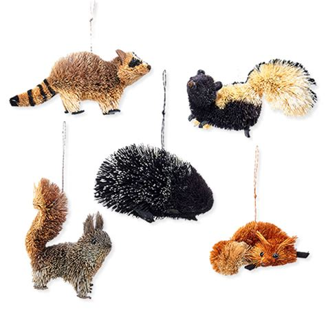 animal ornaments duncraft com buri woodland animal ornaments