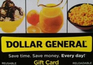 Dollar General Visa Gift Cards - enter to win dollar general gift cards