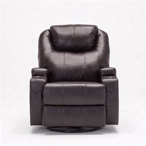 rocker recliner massage chair recliner massage chair real leather functional electric