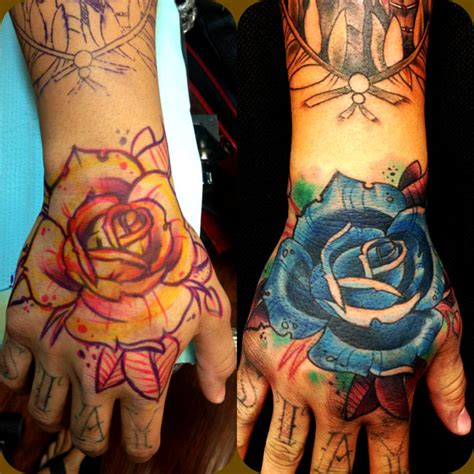 new school rose tattoo design new school artists orange county los angeles