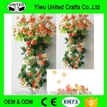 Bunga Artificial Dinding Teralis Tralis Artificial Flower Wall Aa3 hanging wall artificial silk flower rattan plant