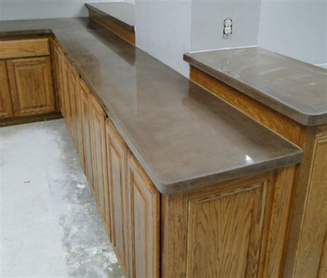 Colored Countertops by Day 4 Solid Color Countertops Using Concrete Pigment