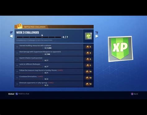 fortnite week 3 challenges snobby shores fortnite treasure map week 3 challenge