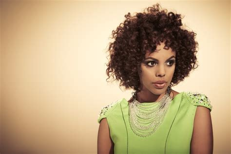 nicole mitchell short curly formal hairstyle dark 1000 images about short fuzzy on pinterest steamers