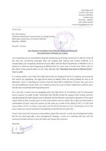 Formal Letter Sle To Municipal Corporation Mumbai Planning Rishi