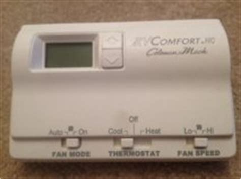 rv comfort coleman mach thermostat com rv comfort coleman mach 12 volt digital