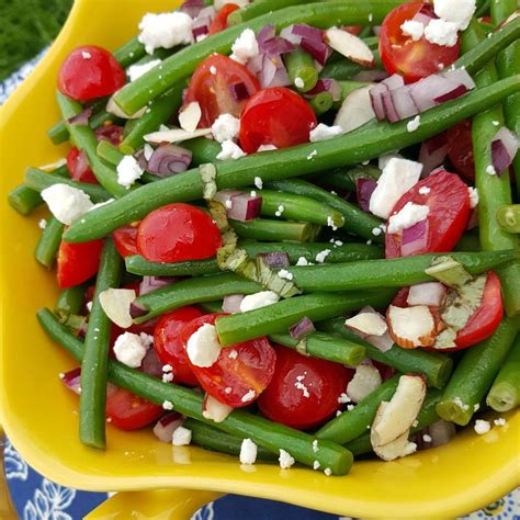 green recipe green bean salad