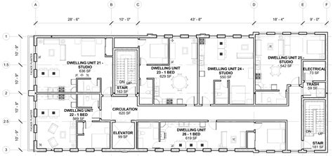 layout plan of the building pico union mixed use sle floor plan cello expressions