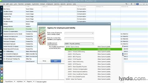 quickbooks tutorial payroll setup setting up payroll items from the course quickbooks pro