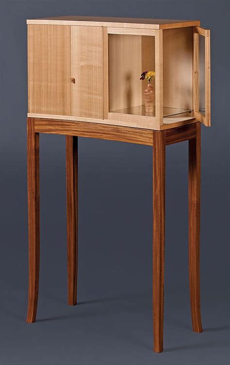 krenov inspired cabinet  stand woodworking furniture