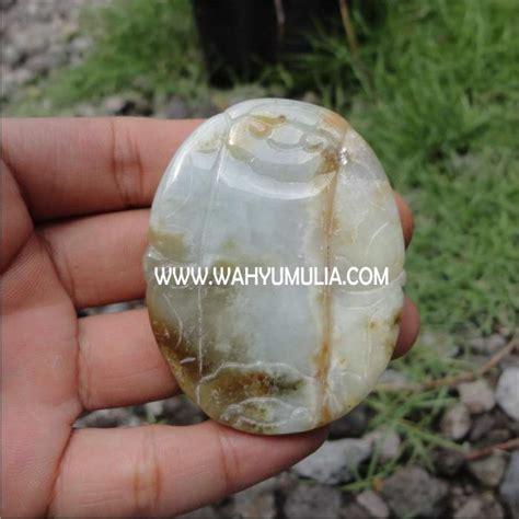 Gelang Giok Putih Jade Aceh batu liontin giok jadeit jade kode 174 wahyu mulia