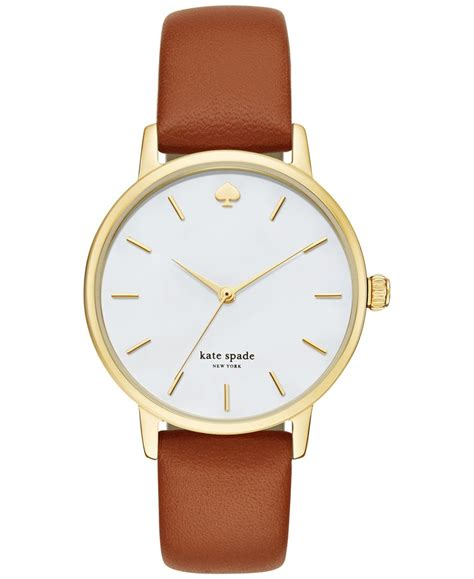 kate spade s metro luggage leather 34mm