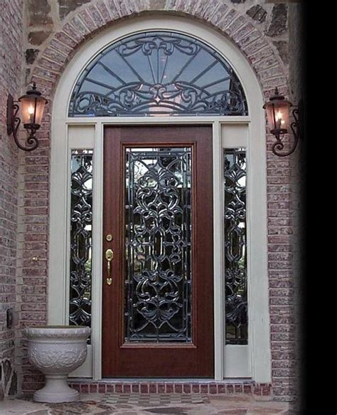 glass front doors images exterior front doors the impression of your house