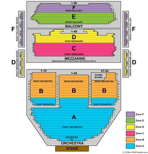 ahmanson seating chart level  awesome home