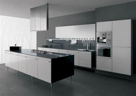 black and white kitchen design ideas 13 554x395 home