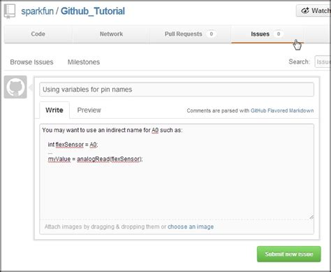 spark tutorial github using github learn sparkfun com