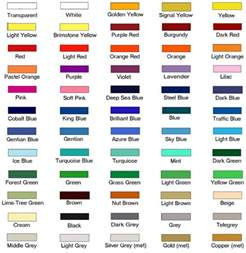 hex color names 9 best images of charts for the classroom with color names