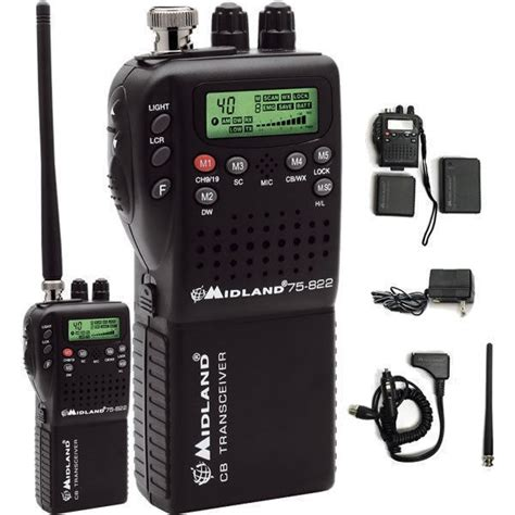 best mobile cb radio midland 75 822 handheld portable mobile cb radio 75 820