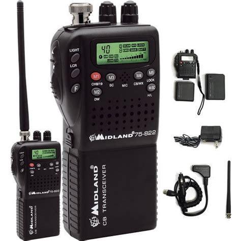 midland   handheld portable mobile cb radio