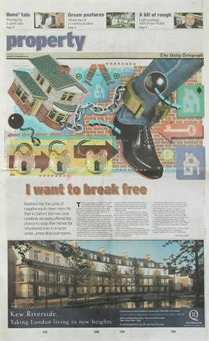 Saturday Telegraph Property Section by Bayko General Interest Daily Telegraph Property 2002